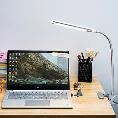 5W Modern Style Dimmable Flexible Design 48 LED Clip-On Desk Table Reading Lamp