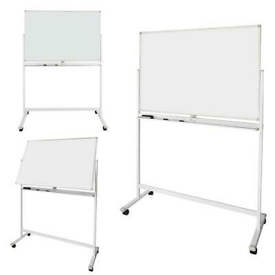 Dry Erase Board Stand Easel Magnetic Double Sided Whiteboard 360°Rolling Wheels