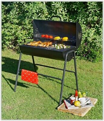 Charcoal Barbeque Grill Smoker BBQ Garden Portable Outdoor Cooking Patio Party