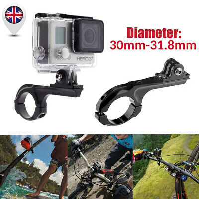 Aluminum Bike Handlebar Bar Standard Mount Adapter For GoPro HD Hero Camera UK