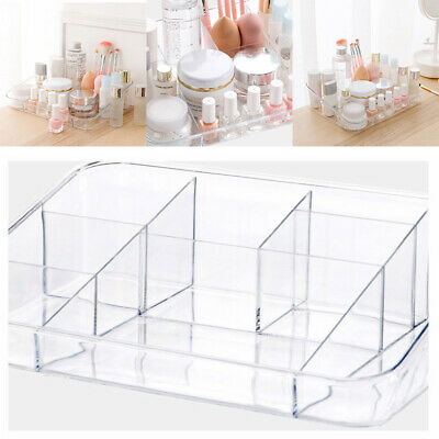 Cosmetic Organizer Clear Acrylic Makeup Perfume Holder Case Box Jewelry Storage