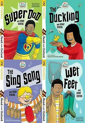 Read with Oxford: Biff, Chip and Kipper 4 Book Collection (Stage 2) The Sing Son