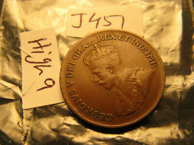 Canada 1929 High 9 Variety Small Cent ID#J451.