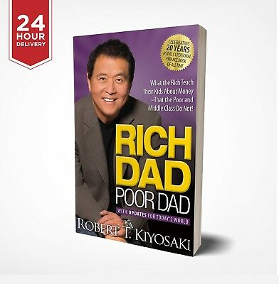 Rich Dad Poor Dad by robert kiyosaki - E Book  - High Quality