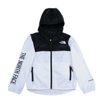 The North Face Reactor Wind Jacket Bambini T93NKG FN4 White