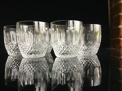 A set of 6 Waterford Crystal Colleen Tumblers 3 3/8""