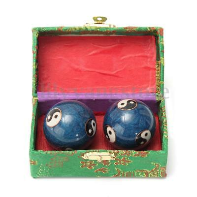 Chinese Health Exercise Stress Baoding Balls Ying Yang Relax Therapy Dragon