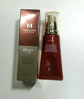 Missha M Perfect Cover BB Cream SPF42 PA+++ 50ml No.27 Korea best beauty item