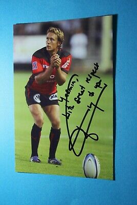 Jonny Wilkinson England World Cup Johnny Autographed Signed A4 Photo Poster