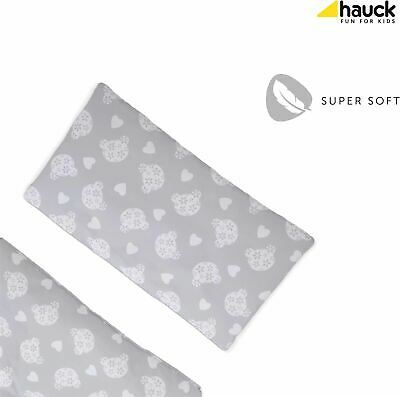 Hauck ALPHA HIGHCHAIR PAD DELUXE - TEDDY GREY Baby Booster Seat Cushion - NEW