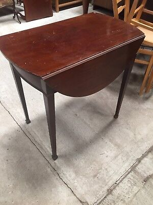 Vintage Antique Mahogany  Drop Leaf  Dining Table 25/6/W
