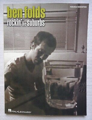 Ben Folds Rockin/' the Suburbs Sheet Music Piano Vocal Guitar Songbook 000322359