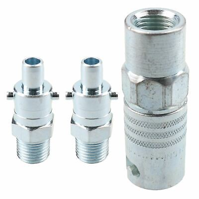 "PCL Instant Air Coupler 1/4"" BSP Female Thread & Bayonet Fitting Male Adaptors"