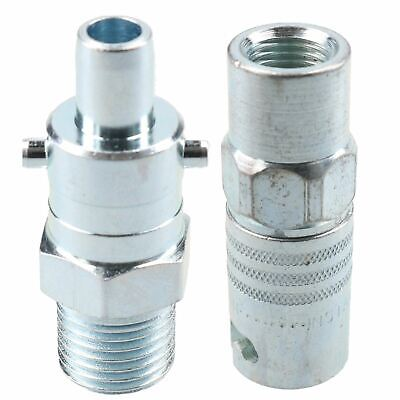 "PCL Instant Air Coupler 1/4"" BSP Female Thread & Bayonet Male Adaptor Fitting"