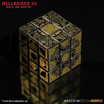 Hellraiser III: Hell on Earth Lament Configuration Puzzle Box Cube Mezco
