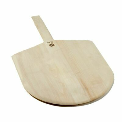 "American Metalcraft 2414 24"" Wooden Pizza Peel w/ Handle"