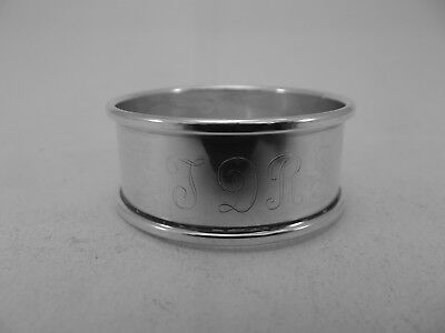 HM Silver Napkin Ring (518a) - Birmingham 1988 by Harman Brothers - sterling