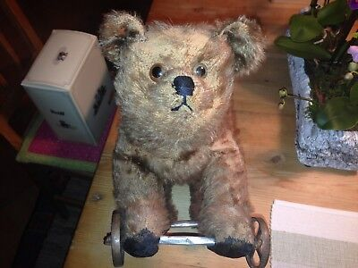Uralter Räder Mohair Teddybär Teddy Bear antik - Old Vintage  Teddy Baer Antique