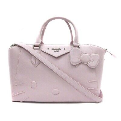 a90f02d17 Samantha Vega Bag Hand Shoulder 2way Tote Hello Kitty Azel Lavender / SR3