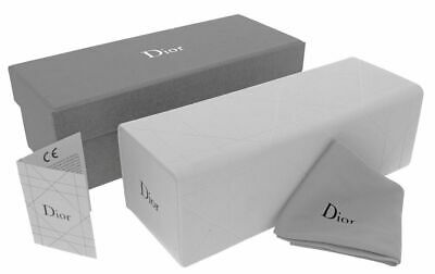 Christian Dior Small Eyeglasses Optical White Case Pouch Cloth New Authentic