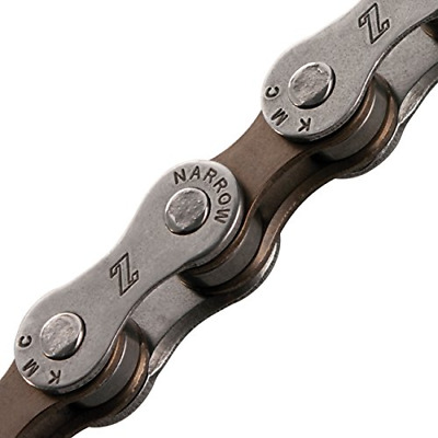 Bicycle Chain (6-7-Speed, 1/2 x 3/32-Inch, 116L, Dark Silver/Brown)