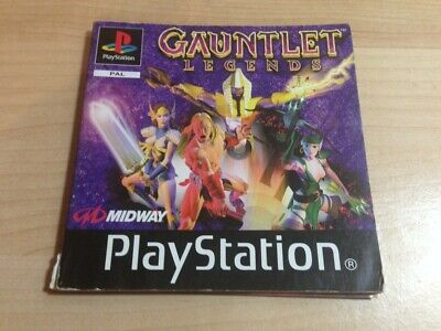 Manual de instrucciones Gauntlet Legends Sony Playstation 1 - Ps1 instruction