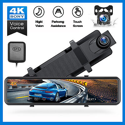 TOGUARD DashCam GPS WiFi Auto Kamera HD 1080P integriertem GPS-Modul WLAN Camera