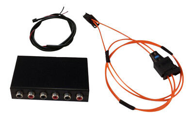 Audio 6 x out Interface Aftermarket Amplifier Most Bus for Audi Mmi 2g Systems