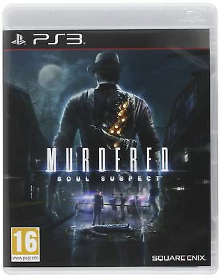 Murdered Soul Suspect (PS3) New and Sealed