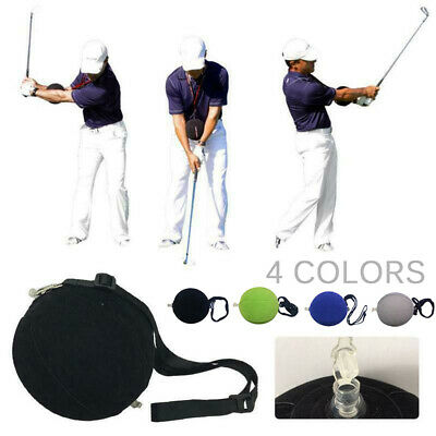 Tour Striker Smart Ball With Lanyard - Inflatable Light Golf Swing Training Aid