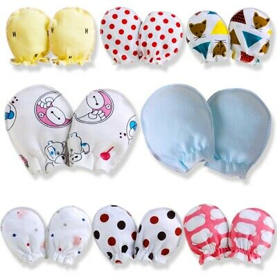 2pcs Baby Gloves Anti Scratch Face Hand Guards Protection Newborn Mitten Soft