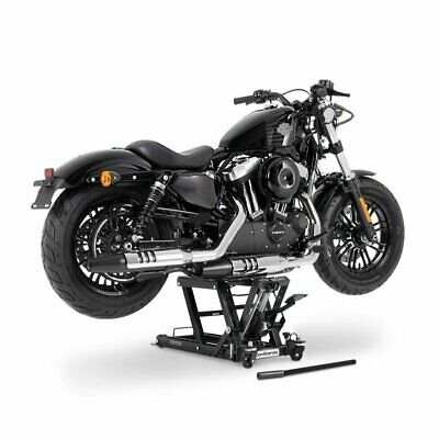 Motorcycle Scissor Lift L for Indian Scout Bobber black Hydraulic Jack