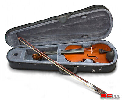 VALENCIA SV114 4/4 Full Size Violin Outfit inc Case, Bow, Rosin
