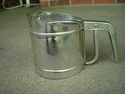 Vintage FOLEY   Metal   FLOUR SIFTER   Made in USA