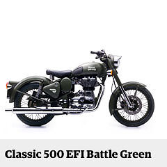 Motorrad Royal Enfield Classic 500 EFI matt battle green