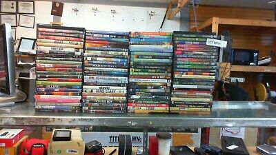 100 -  Mixed Various Random DVD Collection     (Lot MDH)