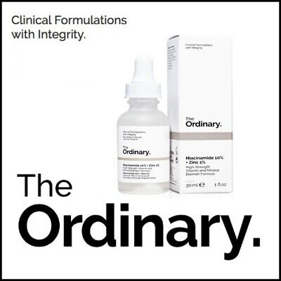 The Ordinary Niacinamide 10% Zinc 1% High Strength Vitamin Mineral 30ml Serum