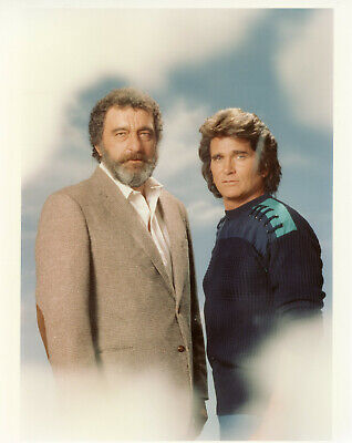 Michael Landon Victor French Highway to Heaven 8x10 photo X5171