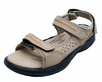 23bd61f4d1fcf Ladies Cotswold Cowley Cream Leather Walking Trail Holiday Sandals Shoes