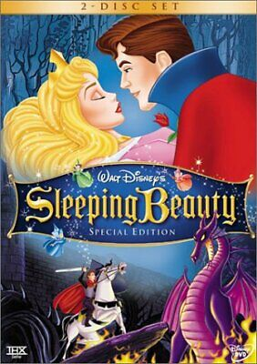Sleeping Beauty DVD - 200+ DISNEY DVD LOT - SEE STORE - SAVE w/COMBINED SHIPPING
