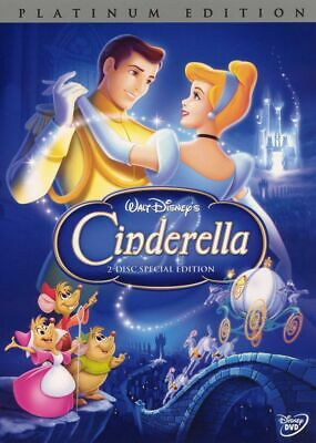 Cinderella I, II & III DVD - 200+ DISNEY DVDS SEE STORE SAVE w/COMBINED SHIPPING