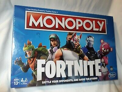 Fortnite Monopoly Limited Edition Board Game NEW Hasbro Fortnight factory sealed