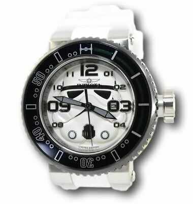 Invicta Pro Diver 27757 Star Wars Limited Edition Storm Trooper Watch RARE 52mm