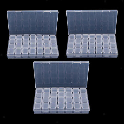 84 Grid Electronic Parts Jewelry Bead Storage Box Crafts Organizer Container