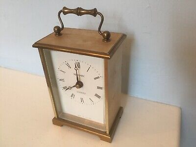 Spares Repair Metamec Brass Mantle Carriage Clock Electric Battery Quartz Motor