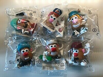 Lot 6 Figurines Mr Patate, Toy Story - Mc Donald's 2018, Neuf sous blister