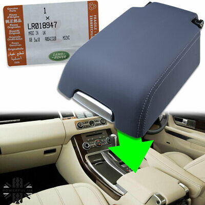 Cubby box centre armrest Genuine Range Rover Sport Ocean Grey Leather arm rest