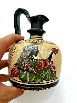 GREEK APULIAN  Red Figure Krater Man GREECE EXACT Old