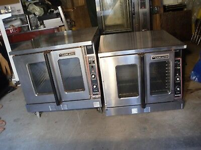 Used Garland Commercial Double Stack Convection Oven, Nat. Gas. Master Series
