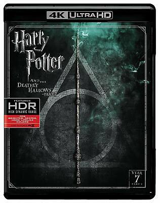 Harry Potter and the Deathly Hallows Part 2 (4K Ultra HD/Blu-Ray, 2017) NEW
